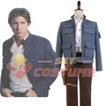 Star Wars: Empire Strikes Back Han Solo Men Jacket Pants Movie Halloween Cosplay Costume For Men
