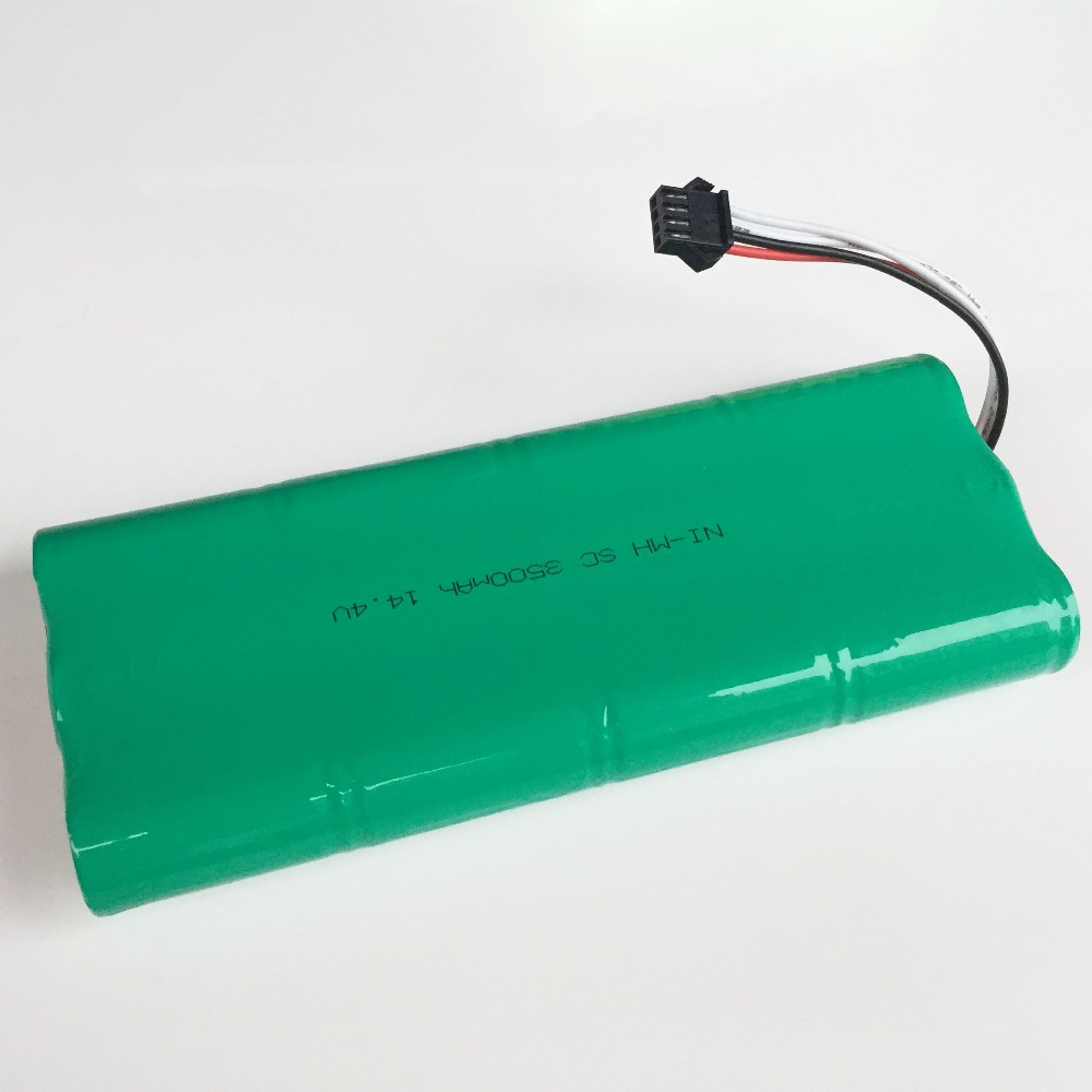 14.4V SC Ni-MH rechargeable battery pack 3500mAh Vacuum Cleaner Sweeping Robot for ECOVACS Deebot 540 550 560 570 580 D58 D56 54 3500mah 14 4v cleaner battery for ecovacs deebot d54 deepoo d56 d58 with free side brush