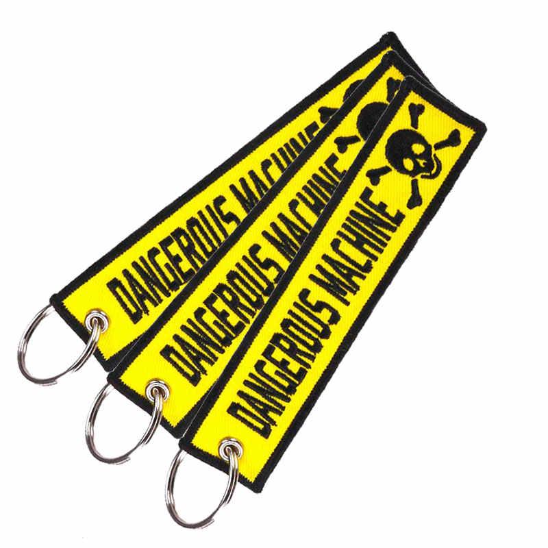 Clelo bagagem tag acessórios de viagem remover antes do vôo bordado chaveiro chaveiro saco tag presente para a tripulação de vôo piloto aviation3pc