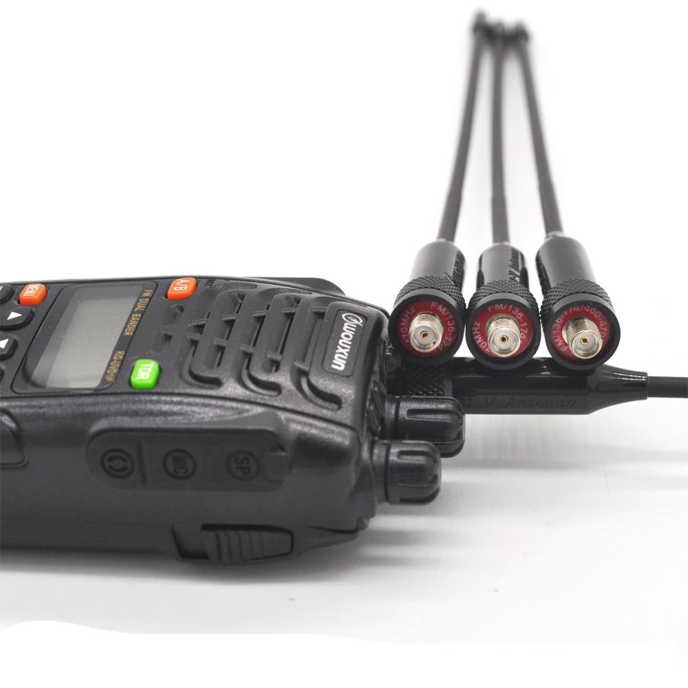 YIDATON izvorna gumena antena UHF VHF Dual Band 136-174mhz 400-470mhz - Voki-toki - Foto 3