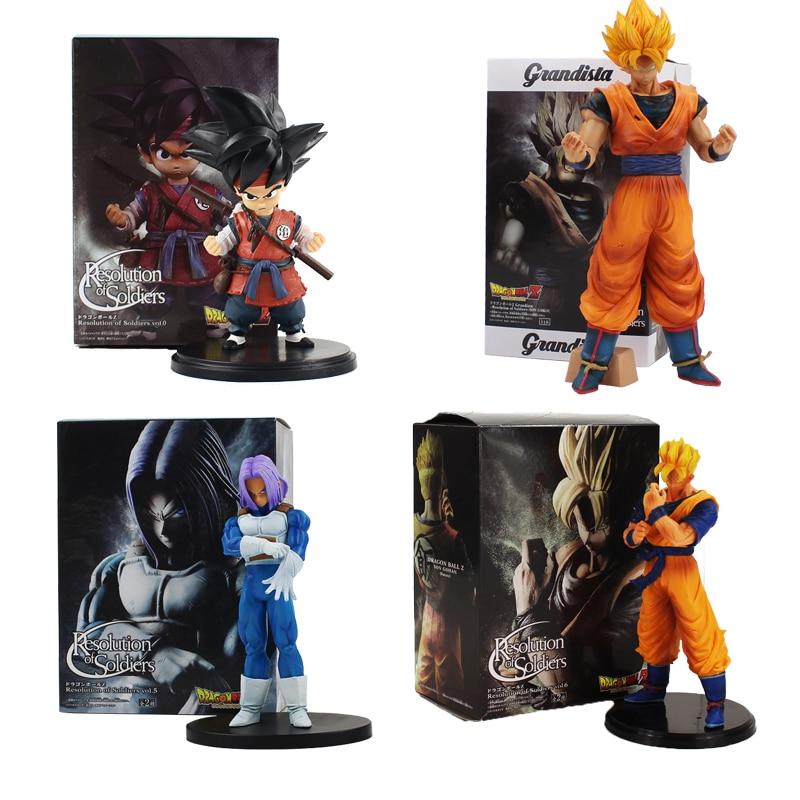 Aliexpress Anime Dragon Ball Z Zukunft Badehose Sohn Goku Gohan Figur Spielzeug Auflosung Von Soldaten Super Saiyan DBZ Modell Puppe Verlasslichen