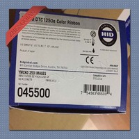 DTC1250E card printer ribbon Fargo 45500 YMCKO 250image/roll
