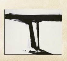 Franz Kline Crane Still life Classical hand painted oil Painting Drawing art Unframed Canvas action design