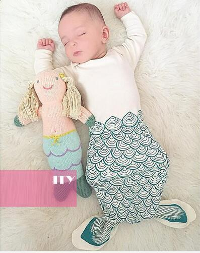 shark slaapzak Baby Newborns sleeping bag 2016 NEW Mermaid unisex baby sleeping bags Long-Sleeve