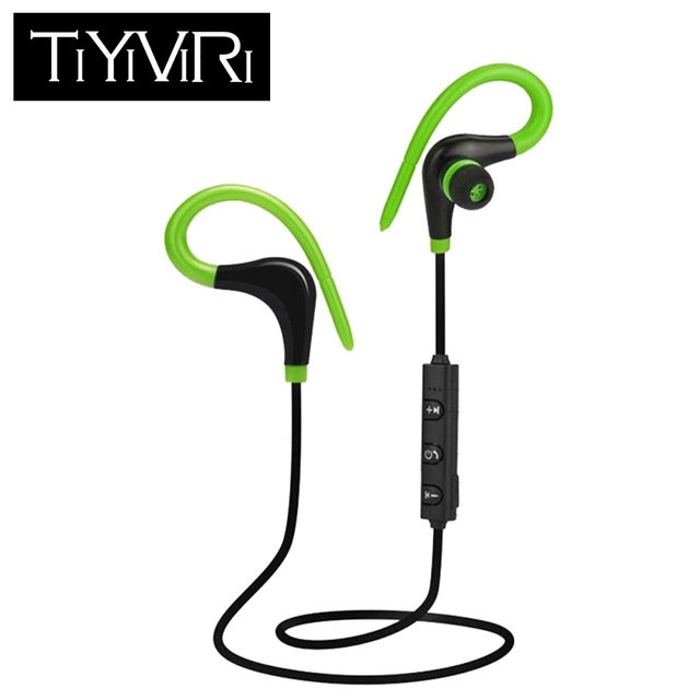 Wireless Bluetooth Earphone Cordless Headphone with Mic Running Sports Portable Neckband Headsets for ios Andriod Mobile Phone