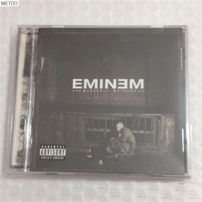 Professional Sale Metoo - Eminem The Marshall Mathers Cd Box [free Shipping] New Excellent In Cushion Effect