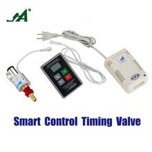 Alarm System JA 8801 LPG Safety Valve Gas Leak Wireless Detector cut valve brass leak monitor close sensor solenoid valve