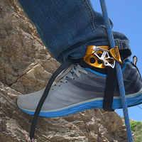 Equipo seguro para alpinismo de escalada en roca elevador de pie izquierdo/Derecho adultos libres