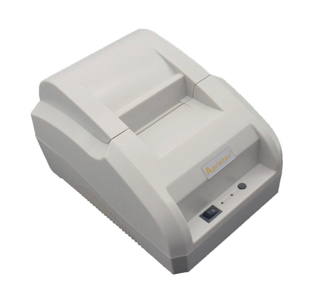 58mm Pos Thermobondrucker Ticket Pos Drucker Supportt Usb