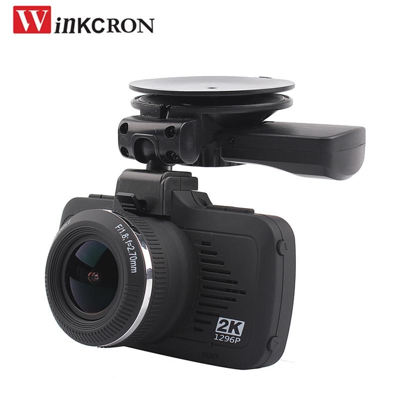 Car Dash Cam 2.7 Ambarella A7 HD 2K Car DVR Camera Video Recorder 170 Degree Dash Cam G-sensor WDR LDWS With GPS Tracker logger