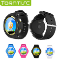 Torntisc GPS Children Smart Watch V12 with SOS MP3 Music Anti-Lost Monitor WeChat Kids Safe Watch Phone for IOS Android Phones