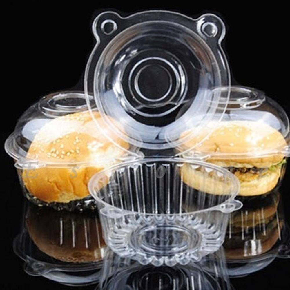 popular disposable cupcake containers buy cheap disposable cupcake
