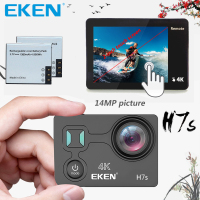100 Original EKEN H7s Touch Screen Action Camera 4K 30fps Utral HD Video 14mp Picture WIFI
