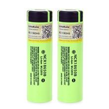 12PCS/lot Liitokala original 18650 3400mAh NCR18650B 3.7V battery Lithium Rechargeable Battery For Flashlight Batteries