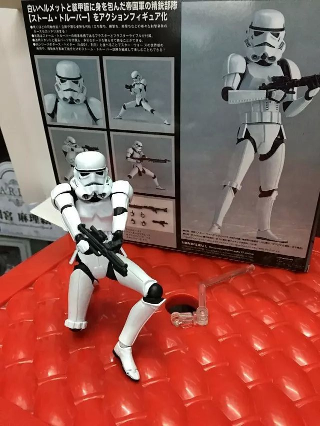 New Star Wars Revoltech Darth Vader 001 Stormtrooper 002 PVC Action Figures Collectible Model ToyNew Star Wars Revoltech Darth Vader 001 Stormtrooper 002 PVC Action Figures Collectible Model Toy