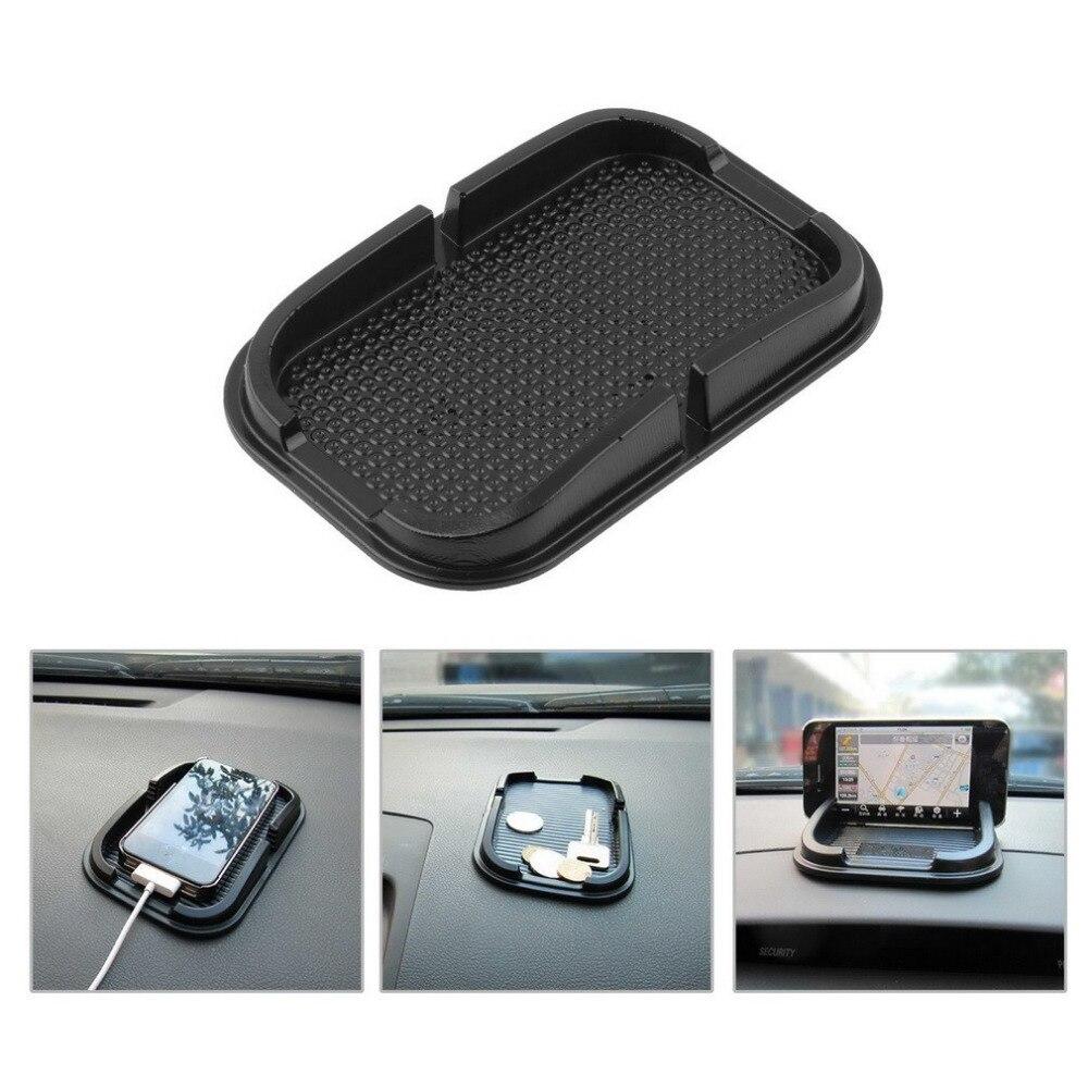 Universal Multi-functional car Anti Slip pad Rubber Mobile Sticky stick Dashboard Phone Shelf Antislip Mat For GPS MP3 dashboard sticky pad anti slip mat