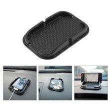 Универсальный многофункциональный автомобиль Антипробуксовочная площадку Резина Мобильная Важная палка Dashboard Телефон Полка Противоскользящие Коврик Для GPS MP3