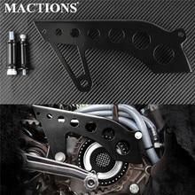 Мотоциклетный передний шкив защитный черный приводной шкив Крышка для Harley Sportster XL 883 1200 48 72 nighster SuperLow 04-14 15 16 17