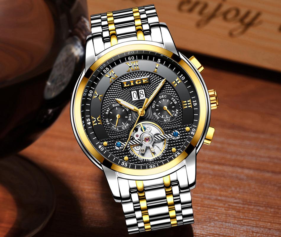 Brand Luxury Automatic Mechanical Watch