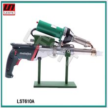 Pipeline portable extrusion type Plastic welding torch machine welding rod hot melting hot air welding machine LST610A
