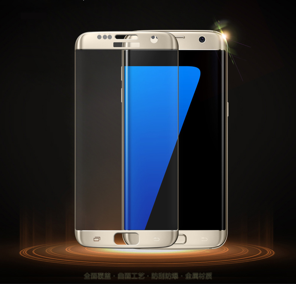 Original <font><b>MOFi</b></font> <font><b>Full</b></font> Coverage <font><b>Screen</b></font> 3D <font><b>Curved</b></font> Protection Film For Samsung Galaxy S7 Edge SM-G9350 <font><b>Tempered</b></font> <font><b>Glass</b></font> <font><b>Screen</b></font> <font><b>Protector</b></font>