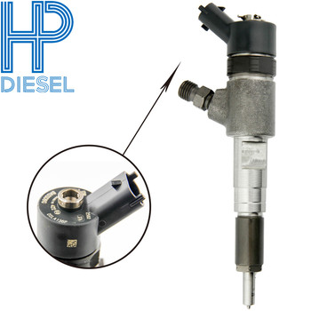 Common Rail Injection 0445 110 422 Injector Diesel 0445110422 Diesel Fuel Injector 0 445 110 422 Replaced Injector 0445110421