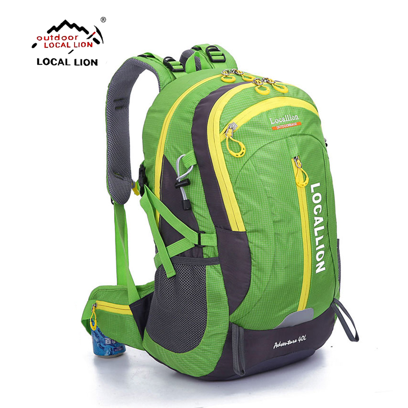 LOCALLION Women Outdoor Hiking Cycling Climbing Bag 40L Lightweight Men Travel Backpack Brand Knapsack Rucksack Sports bag locallion 20l unisex bicycling hiking climbing cycling backpack outdoor riding running rucksack sports bag