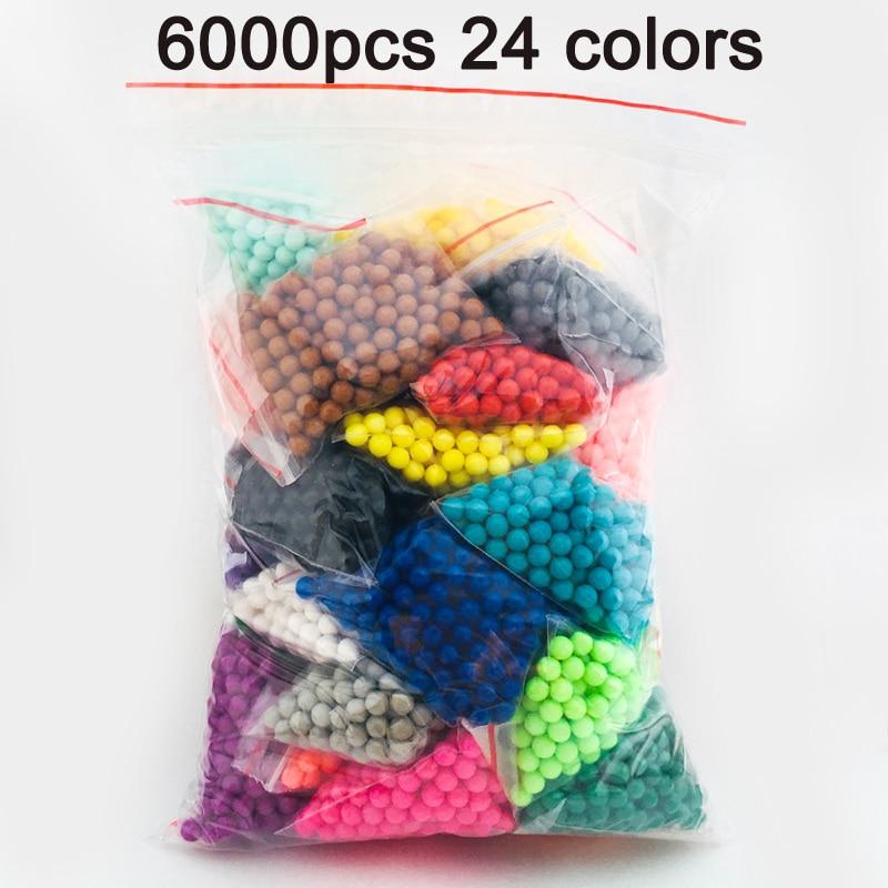 DOLLRYGA 6000pcs 24color Beads…
