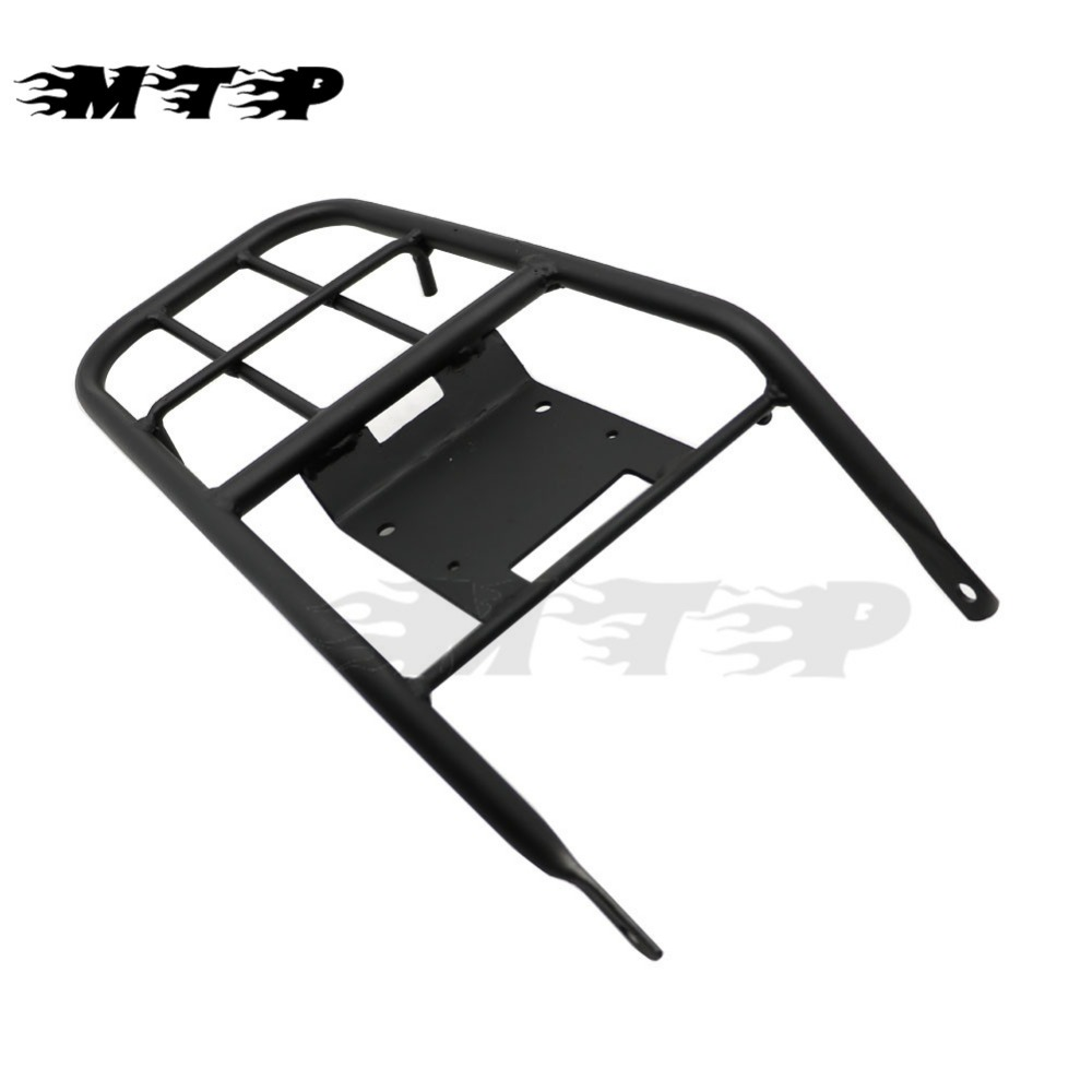 XR250 XR400 Rear Luggage Rack Holder Shelf For Honda XR 250 400 1996-2004 03 02 01 99 98 97 Detachable Saddlebag Cargo Bracket for honda xr 250r 1996 2003 xr 400r 1996 2004 license plate holder mount led lights bracket