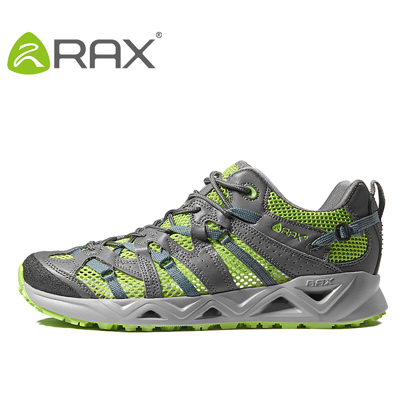 Rax Breathable Trekking Shoes Men Women Summer Lightweight Hiking Shoes Men Ourdoor Walking Fishing Shoes Men WomenZapatos free shipping candy color women garden shoes breathable women beach shoes hsa21
