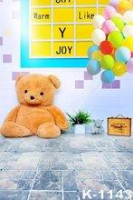 Wholesale Vinyl Photo Backdrops 5x7ft Photo Studio Backgrounds Child Babies Photography Backdrops Kids Brick Floor Backgrounds