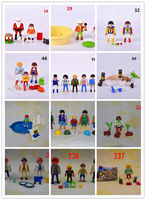 New 1 Set Playmobil Kits Action Figures Collectible Anime Toys Child Toys Gift