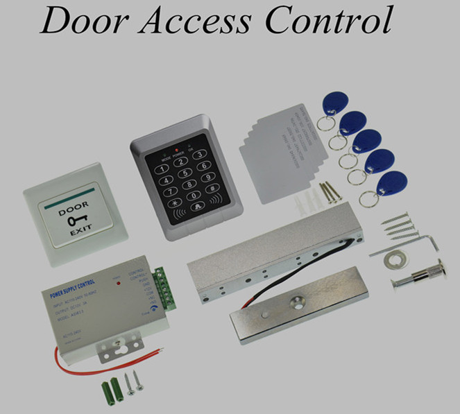 ФОТО New Set Electric Door Lock RFID Access Control System Set Kit +Magnetic Lock +Power  door access control