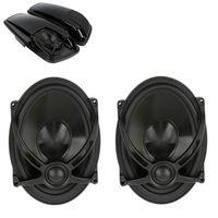 5 X7 Saddlebag Lid Speakers For Harley Touring Models Electra Street Road Glide FLHTCU FLHR FLTR