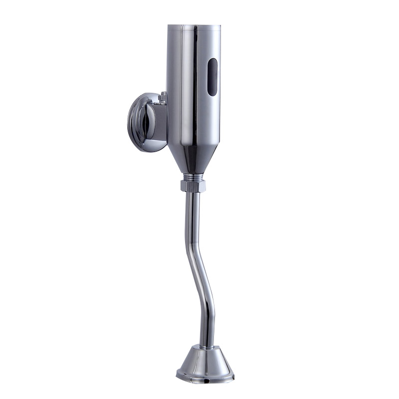 YanJun Wc Uinal Sensor Flush Valve Toilet Automatic  Flush Valve  Urinal Flushometer  Polished Chrome YJ-6310 free shipping mj dn20 g3 4 water tank plastic float valve water float valve flush valve toilet flush valve