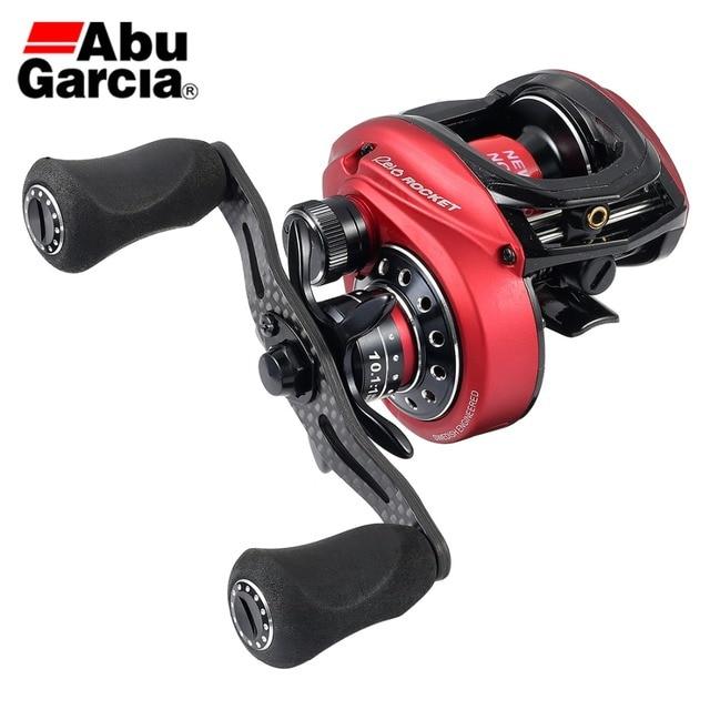 ABU GARCIA REVO 4 ROCKET Fishing Reel 11BB 10.1:1 High Gear Ratio Reel 205g 8kg Max Drag Dual Brake System Baitcasting Reel