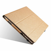Ultra Slim Magnetic Silk Flip Stand PU Leather Skin Cover Protective Bag Funda Case For Lenovo