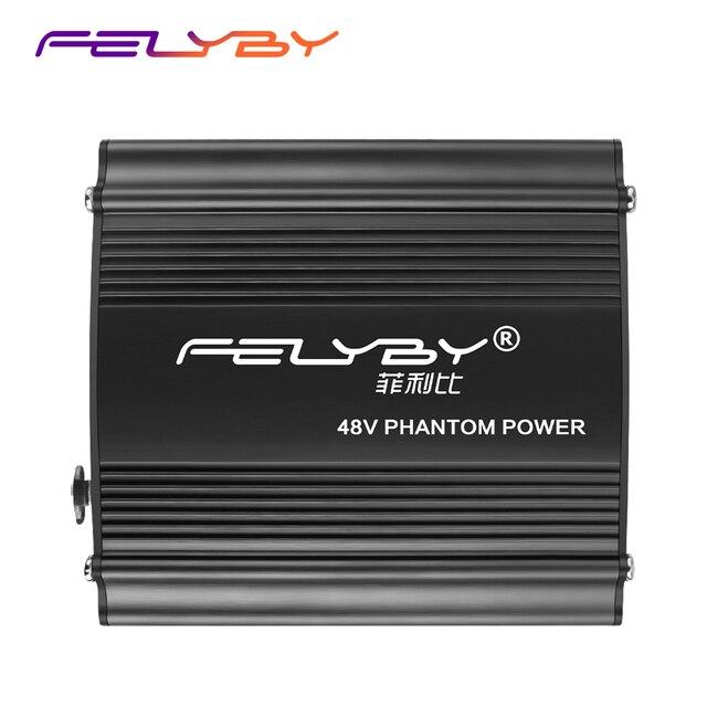 חם! חדש 48V פנטום כוח + USB כבל חשמל + XLR XLR כבלים עבור כל הקבל מיקרופון עבור טוב יותר מיקרופון קול איכות.