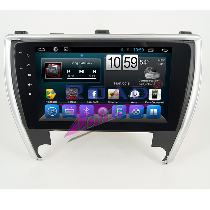 Wanusual 10.Iich 2G+32GB Android 6.0 Car Head Unit Media Center Player For Toyota Camry 2015- USA Version GPS Naviagtion NO DVD