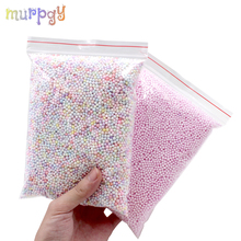 Big Bag Addition for slime Warm Color Snow Mud Particles DIY Accessories Charms Tiny Foam Beads Slime Balls Toys Supplies