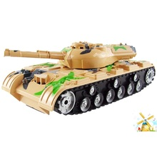 Children educational toy wireless remote control tank 5820 rc tank simulation battle remote control tank toy model rc toy gifts