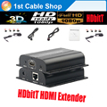 New HDbitT HDMI extender IR over routers up to 120M(1receiver only) supports 1 hdmi transmitter to N hdmi receivers