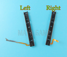 original used Right and left Slider With Flex Cable Line Fix Repair Replacement For Nintend Switch Console NS NX rebuild