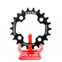 Stone Bike Chainring 64 BCD 64mm Oval or Circle For MTB Replace Inner Chainring Narrow Wide Teeth Climbing Bike Chainwheel Ring