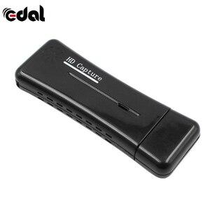 EDAL Новый USB 2,0 Easycap Видео Аудио Захват карты адаптер DVD конвертер композитный аудио для легкой крышки видео адаптер