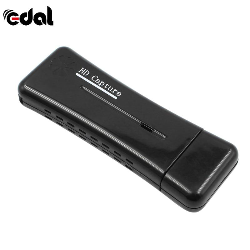 EDAL nuevo USB 2,0 Easycap Video Audio Capture Card Adaptador convertidor de DVD Audio compuesto a adaptador de vídeo fácil Cap