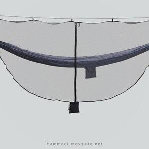 Image 4 - 해먹 버그 그물 초경량 모기장 야외 캠핑 생존 그물 그물 340*140CM 0.88 파운드 빠른 쉬운 설치