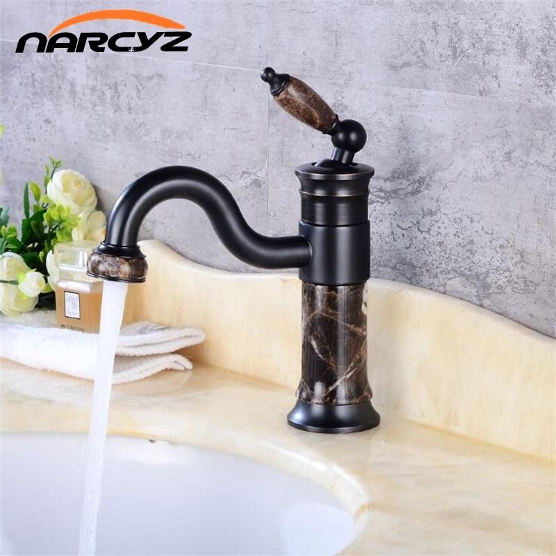 New style Body Bathroom Basin Faucet Brass Mixer Tap Golden Sink Faucets Single Handle Basin Faucet Rose Gold/Black XT620 ydl f 0575 centerset single handle rose gold finish brass bathroom sink faucet golden