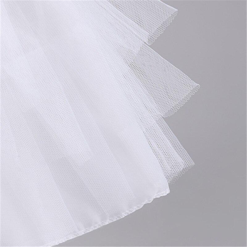 New Children Petticoats for Formal Flower Girl Dress Hoopless Short Crinoline Little Girls Kids Child Underskirt
