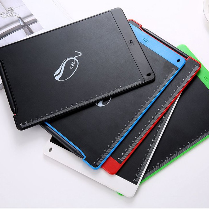 8.5inch Magnetic Handwriting Board LCD Writing Tablet for Writing calligraphy Painting Copy Calculus Draft with One Button Erase_8